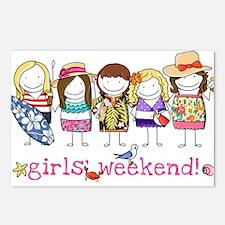 Girls' Weekend Postcards (Package of 8)
