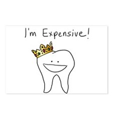 I'm Expensive - Tooth Postcards (Package of 8)