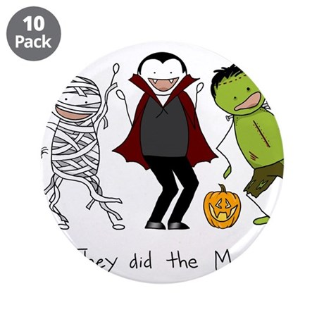"Monster Mash - Halloween 3.5"" Button (10 pack)"