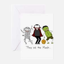 Monster Mash - Halloween Greeting Cards (Pk of 20)
