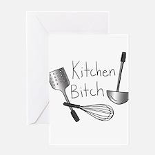 Kitchen Bitch Greeting Card