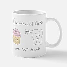 Cupcakes vs. Teeth Mug