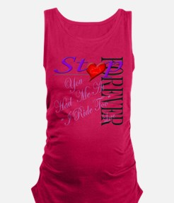 Cute You had me at bacon Maternity Tank Top