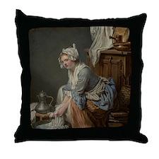 Vintage laundry Throw Pillow
