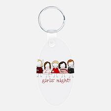 Girls Night Keychains