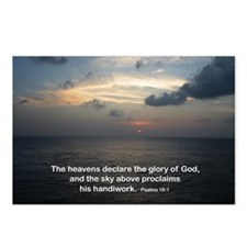 Psalms 19:1 Postcards (Package of 8)
