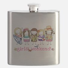 Girls Weekend Pink Flask