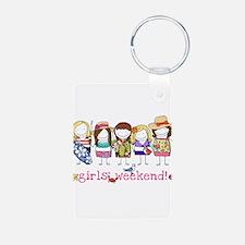 Girls Weekend Pink Keychains