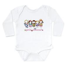 Girls Weekend Pink Long Sleeve Infant Bodysuit