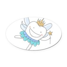 Tooth Fairy Oval Car Magnet