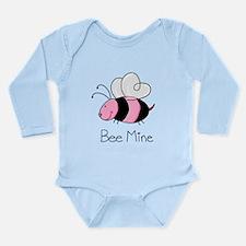 Bee Mine Long Sleeve Infant Bodysuit