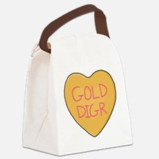 GOLD DIGR Canvas Lunch Bag
