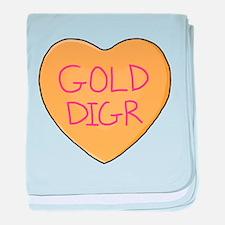 GOLD DIGR baby blanket