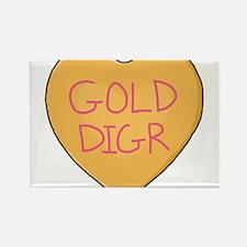 GOLD DIGR Rectangle Magnet