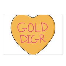 GOLD DIGR Postcards (Package of 8)