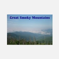 Smoky Mtns Rectangle Magnet