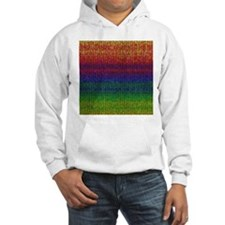 Rainbow Knit Photo Hoodie