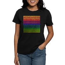Rainbow Knit Photo Tee