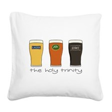 The Holy Trinity Square Canvas Pillow