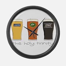 The Holy Trinity Large Wall Clock