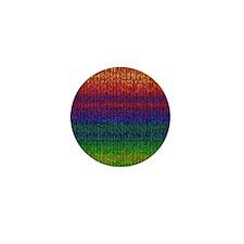 Rainbow Knit Photo Mini Button (10 pack)