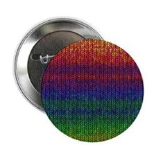 "Rainbow Knit Photo 2.25"" Button (10 pack)"