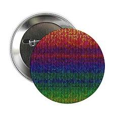 """Rainbow Knit Photo 2.25"""" Button"""