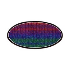 Rainbow Knit Photo Patches