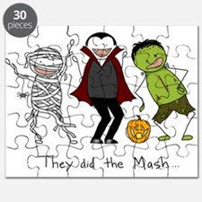 They did the Mash Puzzle