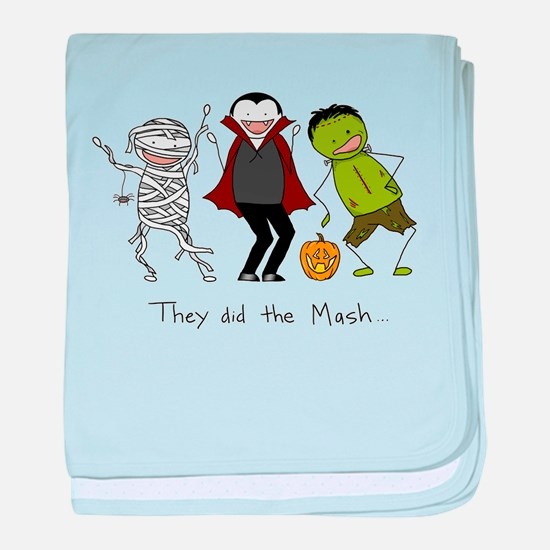 They did the Mash baby blanket