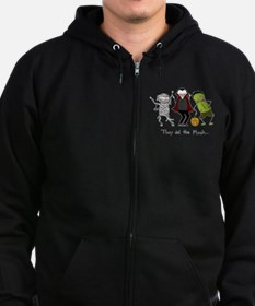 They did the Mash Zip Hoodie