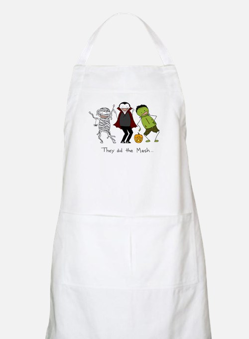 They did the Mash Apron