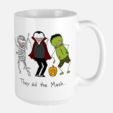 They did the Mash Large Mug