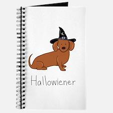 Halloween Wiener Dog Journal