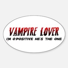 Vampire Lover Decal