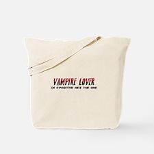 Vampire Lover Tote Bag