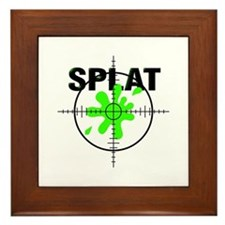Paintball Splat Framed Tile