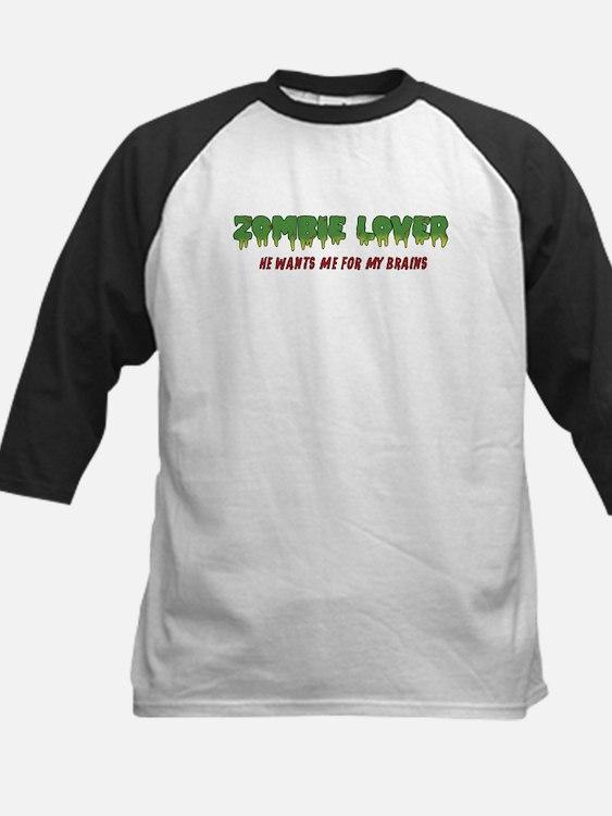 Zombie Lover - Kids Baseball Jersey