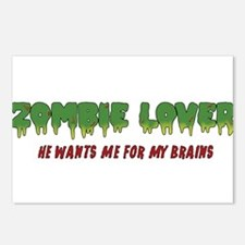 Zombie Lover - Postcards (Package of 8)
