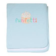 Vanilla Funfetti baby blanket