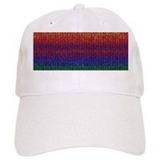 Rainbow Knit Photo Cap