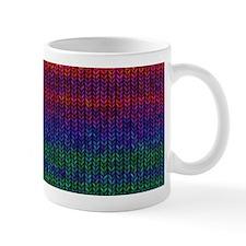 Rainbow Knit Photo Small Mug