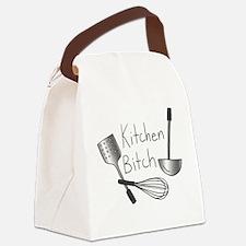 Kitchen Bitch Canvas Lunch Bag