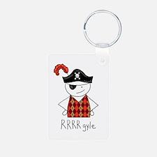 RRRR-gyle Pirate Keychains