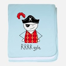 RRRR-gyle Pirate baby blanket