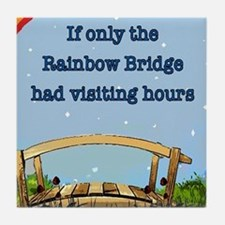 Rainbow Bridge Tile Coaster