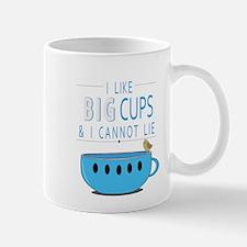 I like big cups I cannot lie Mugs