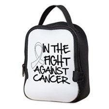 In The Fight Mesothelioma Neoprene Lunch Bag