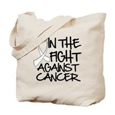 In The Fight Mesothelioma Tote Bag
