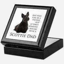Scottie Dad Keepsake Box